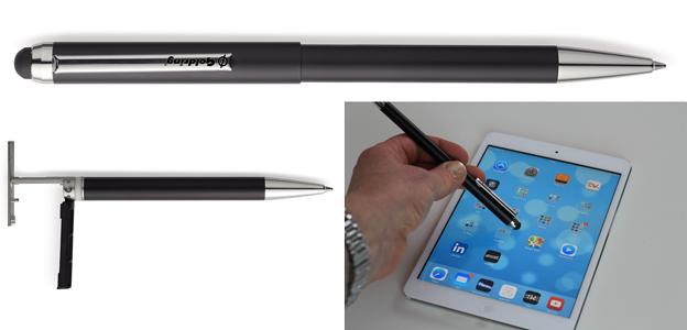 Stämpelpenna Svart för touchskärm