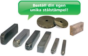stålstämplar